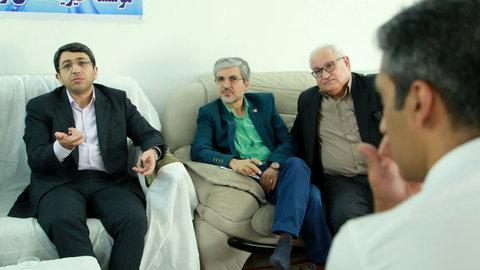 بازدید دکتر قبادی دانا از مرکز ترک اعتیاد همای رحمت