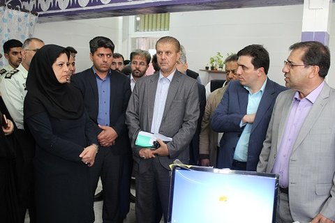 تهران| ری | کتابخانه مرکز نگهداری و درمان معتادان مهر سروش در کهریزک افتتاح شد