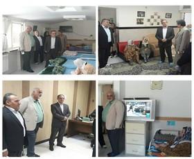 کردستان | بازدید مسئولان کشوری و استانی بهزیستی از مراکز شبانه روزی تحت نظارت بهزیستی استان کردستان