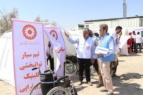 کرمان|حضور تیمهای تخصصی بهزیستی در مانور زلزله منطقه بیاض انار