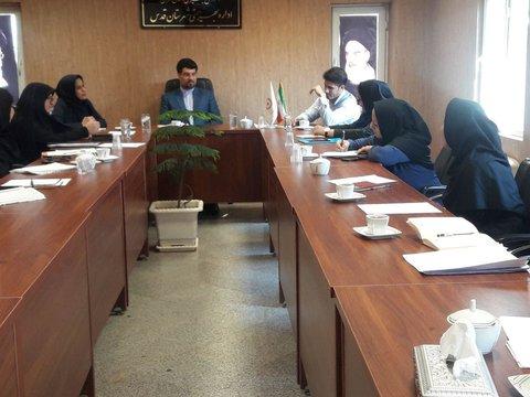 تهران| قدس |جلسه مددکاران بهزیستی و مراکز خصوصی در شهرستان قدس