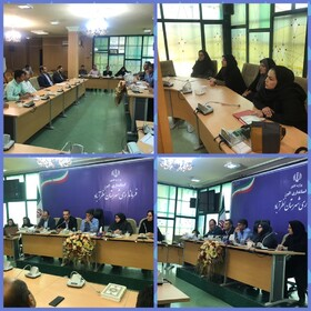 البرز | نظرآباد | جلسه توجیهی و هماهنگی گروه تاک با بخشداری ها و دهیاری های شهرستان نظرآباد