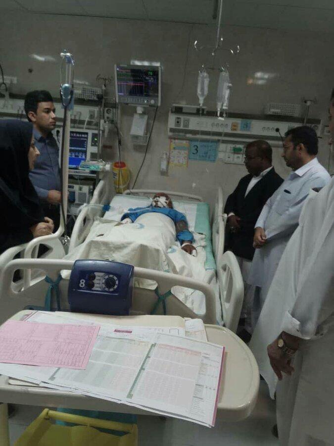 سیستان و بلوچستان ا چابهار|سهل انگاری پیمانکار شهرداری باعث سقوط فرد نابینا از روی پل عابر شد