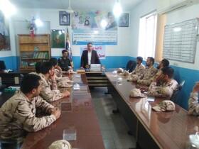 گلستان| گالیکش| برگزاری کلاس آموزشی در بسیج سپاه پاسداران