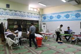 کرمان| اهداء خون توسط کارکنان بهزیستی استان کرمان