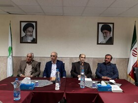 استان سمنان ا نشست مدیرکل  بهزیستی استان با مسئولین مراکز توانبخشی