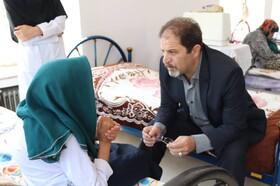 آذربایجانغربی| بازدید مدیرکل بهزیستی استان از مراکز تحت پوشش بمناسبت عید قربان