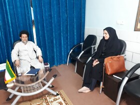 اصفهان| مبارکه| دیدار سرپرست بهزیستی با حجت الاسلام موسوی امام جمعه شهرستان