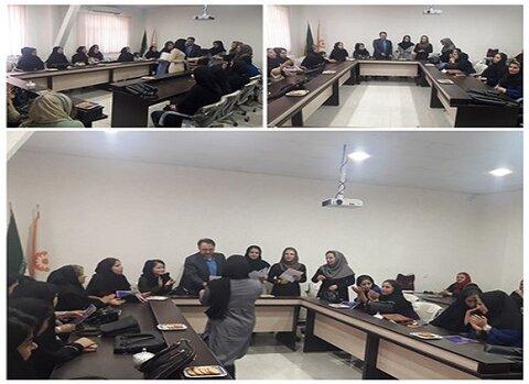 کردستان | جلسه هم اندیشی مدیران مهدهای کودک در شهرستان مریـوان
