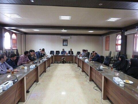 اصفهان| خوروبیابانک| تشکیل کمیته مناسب سازی و شورای سالمندان