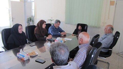 اصفهان| تیران و کرون| برگزاری جلسه شورای مشارکتهای مردمی