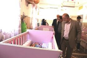 آذربایجان غربی| بازدید نماینده مردم ارومیه در مجلس از شیرخوارگاه مهر ارومیه