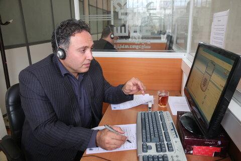 گلستان   پاسخگویی مدیرکل ومسئولین بهزیستی استان به مددجویان در مرکز سامد
