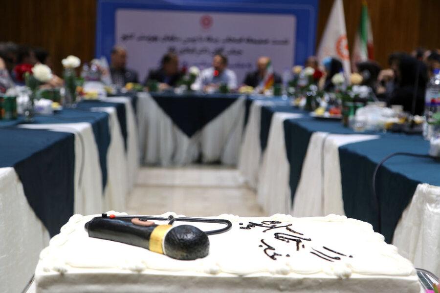 گزارش تصویری/ آئین تجلیل از خبرنگاران حوزه اجتماعی با حضور رئیس سازمان بهزیستی کشور