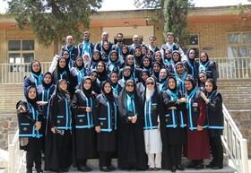 اصفهان| گزارش تصویری| از پوشش متحد الشکل جمعیت همیاران سلامت روان اجتماعی رو نمایی شد