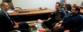 همدان|اسد آباد |جلسه بررسی خدمات مورد ارائه به جامعه هدف بهزیستی با رئیس کتابخانه شهرستان