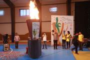 مشعل چهاردهمین جشنواره فرهنگی _ ورزشی فرزندان مهر روشن شد
