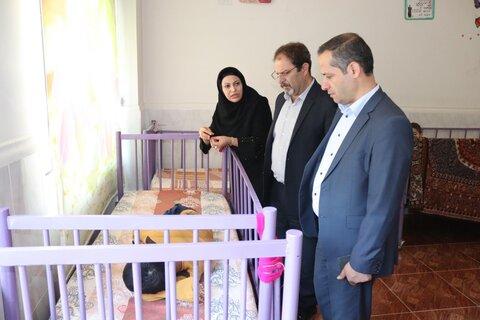آذربایجان غربی| بازدید مدیرکل بهزیستی استان از مرکز نگهداری از معلولین ذهنی
