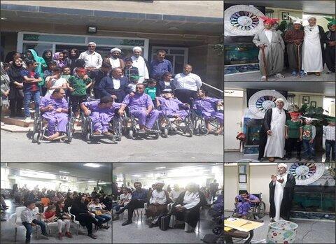 کردستان | برگزاری مراسم جنگ شادی در مراکز تحت نظارت بهزیستی سقز