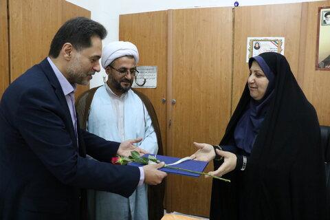 گیلان | تبریک و دیدار مدیرکل بهزیستی گیلان به مناسبت عید سعید غدیر با کارکنان سادات اداره کل