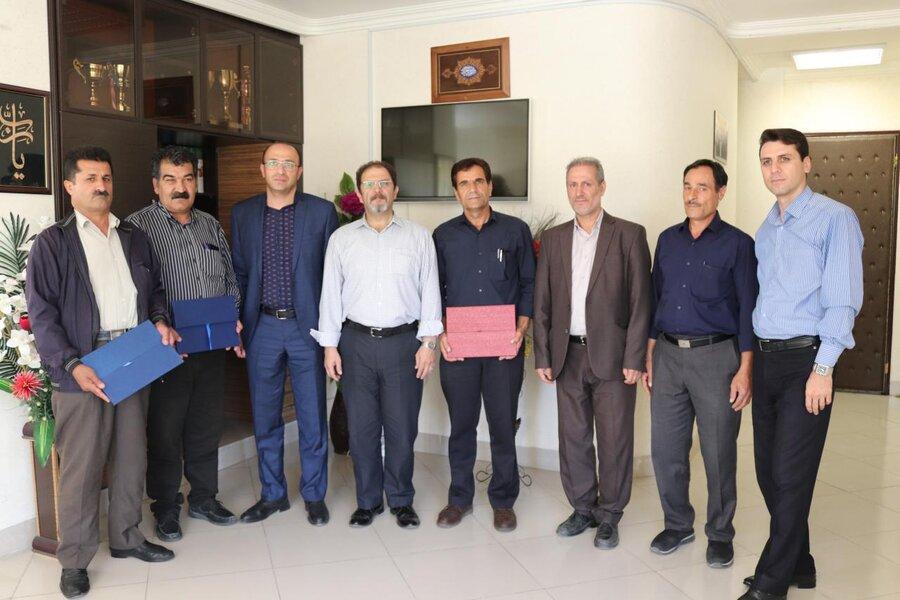 آذربایجان غربی| مدیرکل بهزیستی آذربایجان غربی از آزادگان شاغل در این اداره کل تجلیل نمود