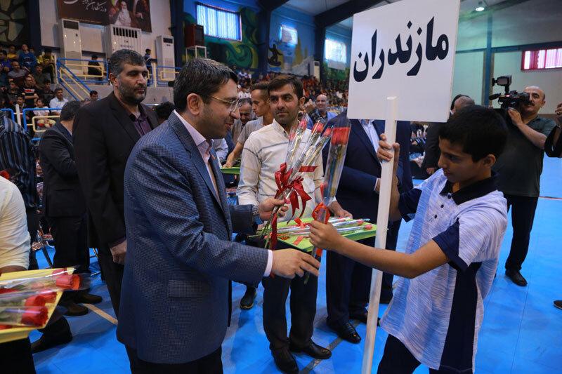 گزارش تصویری|افتتاحیه چهاردهمین جشنواره  فرهنگی ورزشی فرزندان مهر