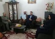 گیلان | دیدار مدیرکل بهزیستی گیلان با توانخواهان سادات در روز عید غدیر