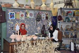 جذب رایگان کارآموز هنر سفال گری با دست در کارگاه فرهنگی هنری ویرا بهزیستی کرمانشاه