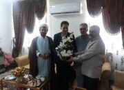 گیلان | دیدار مدیرکل بهزیستی گیلان با همکار بازنشسته سادات در عید غدیر