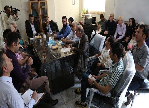 کردستان |نشست صمیمانه انجمنهای معلولین کردستان با نماینده مجلس