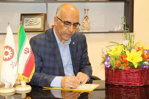 استان سمنان ا پیام تبریک مدیر کل به مناسبت  آغاز هفته دولت