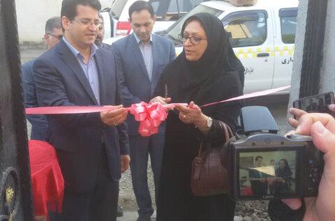 گیلان | افتتاح دو واحد مسکن مددجویی به مناسیت هفته دولت در آستارا