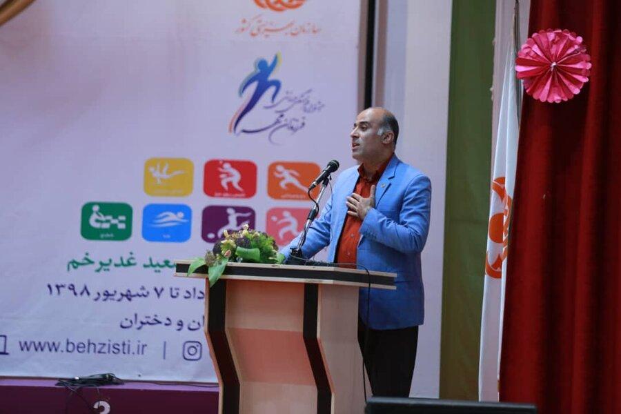 افتتاح چهاردهمین جشنواره فرهنگی، ورزشی فرزندان مهر(دختر)/ با تمام توان پای ارزشهای شما ایستادهایم