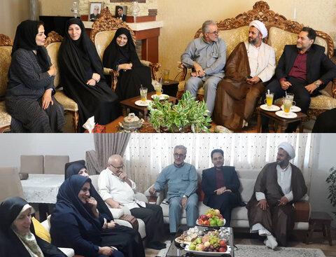 گیلان | دیدار دکتر حسین نحوی نژاد با همکاران بازنشسته به مناسبت روز تکریم بازنشستگان