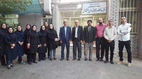 استان سمنان ا نشست تخصصی مدیر کل با کارشناسان اورژانس اجتماعی