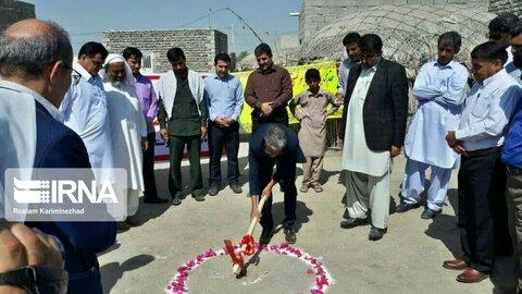 سیستان و بلوچستان ا کلنگ زنی ساخت ۲۵ واحد مسکونی معلولین در شهرستان قصرقند