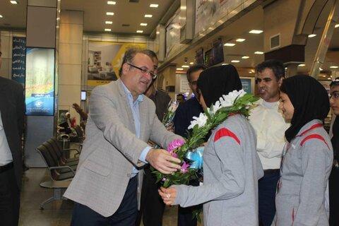 بوشهر | مراسم استقبال از فرزندان  ورزشکار مهر بهزیستی استان بوشهر برگزار شد