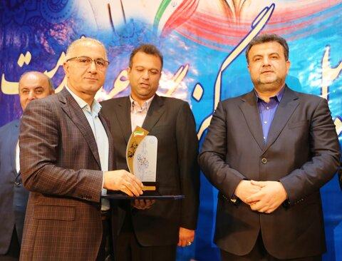 رتبه برتر مازندران در جشنواره شهید رجایی