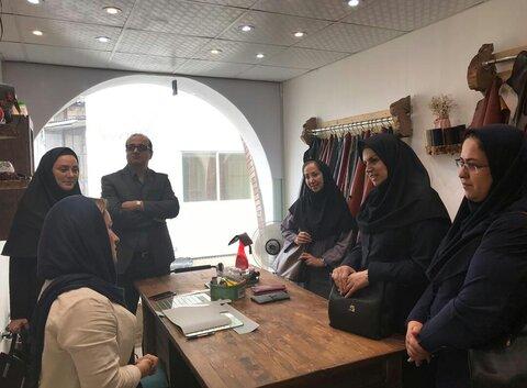 گیلان   بازدید کارشناس تسهیلات حوزه اشتغال سازمان بهزیستی کشور از طرح های خود اشتغالی شهرستان لاهیجان