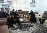 گیلان   دیدار مدیر کل بهزیستی گیلان از ام الشهدا امام پناهی مادر سه شهید