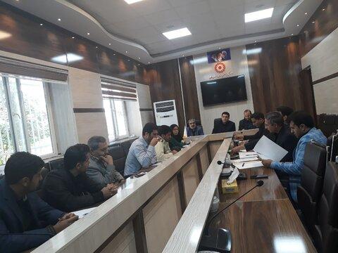 نشست کمیته هماهنگی کمپ ماده ۱۶ در بهزیستی استان