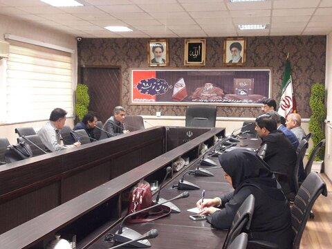 تهران| قدس |برگزاری دوازدهمین جلسه شورای مشارکتهای بهزیستی شهرستان قدس