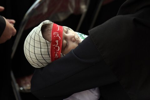 گزارش تصویری | همایش شیرخوارگان حسینی در شیرخوارگاه امام علی (ع)