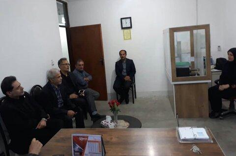 گیلان | بازدید مدیرکل بهزیستی گیلان از اورژانس اجتناعی (۱۲۳) شهرستان رودسر