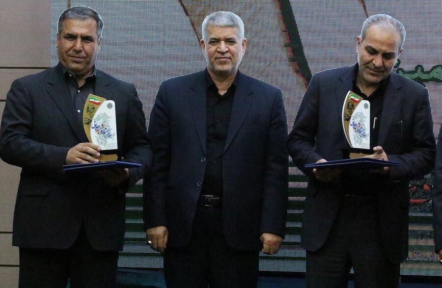 گزارش تصویری| بهزیستی رتبه برتر جشنواره شهید رجایی استان را به خود اختصاص داد