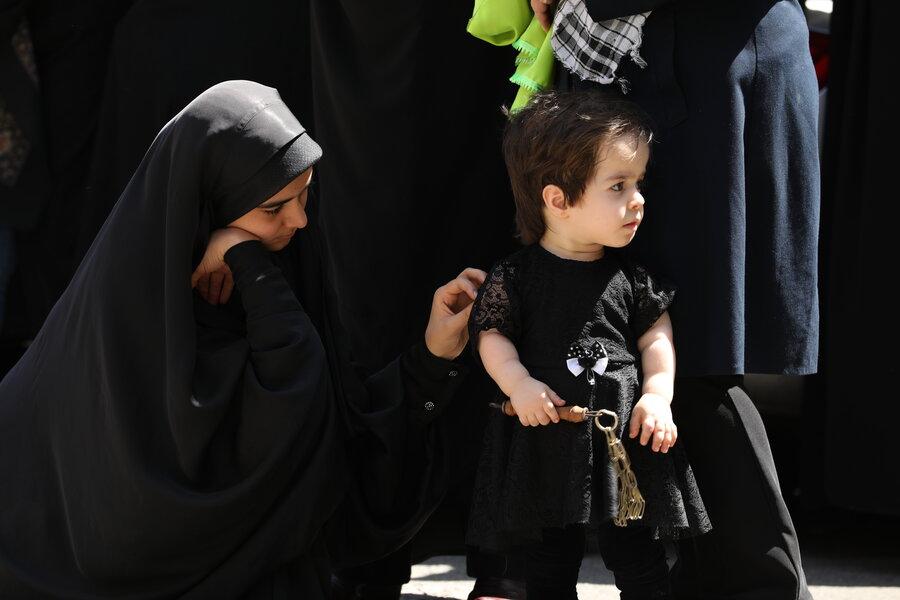 گزارش تصویری| همایش شیرخوارگان حسینی در شیرخوارگاه آمنه