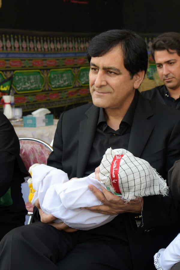 البرز | همایش شیرخوارگان حسینی در  شیرخوارگاه امام علی (ع) برگزار شد