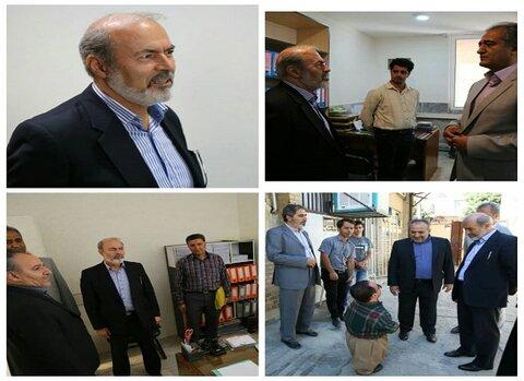 کردستان |دیدار نماینده مجلس شورای اسلامی با کارکنان اداره کل بهزیستی استان کردستان