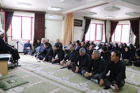 آذربایجان غربی| برگزاری مراسم پرفیض زیارت عاشورا به مناسبت ایام سوگواری سرور و سالار شهیدان ابا عبداله الحسین( ع)