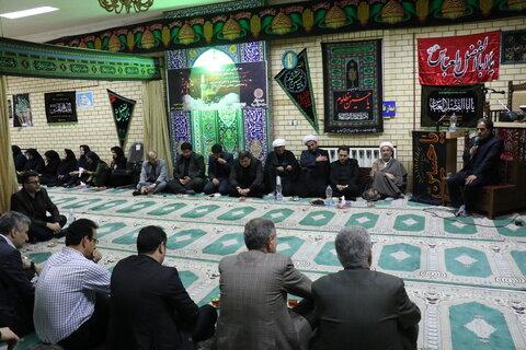 گیلان | برگزاری مراسم عزاداری سرور و سالار شهیدان با حضور مدیرکل و کارکنان اداره کل بهزیستی گیلان